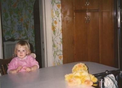 """Duckie"" - My favorite childhood stuffed animal"
