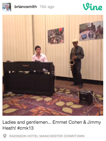 Jimmy Heath and Emmet Cohen
