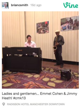 Jimmy Heath and Emmet Cohen
