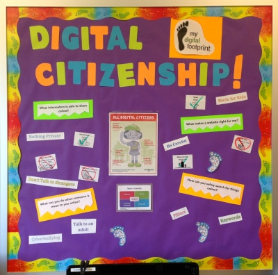 digital citizenship bulletin board
