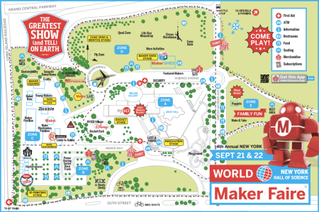 Maker Faire Map
