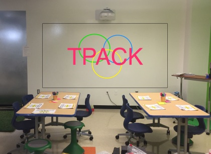 How might we create professional learning experiences around TPACK?